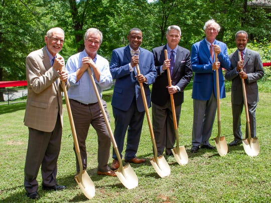 Officials broke ground on a new $4.3 million music