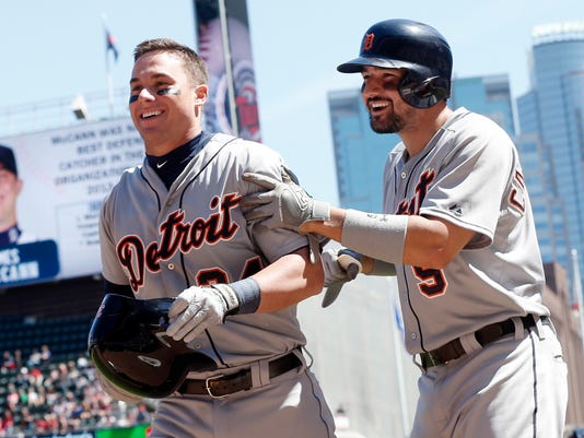 James McCann, Nick Castellanos