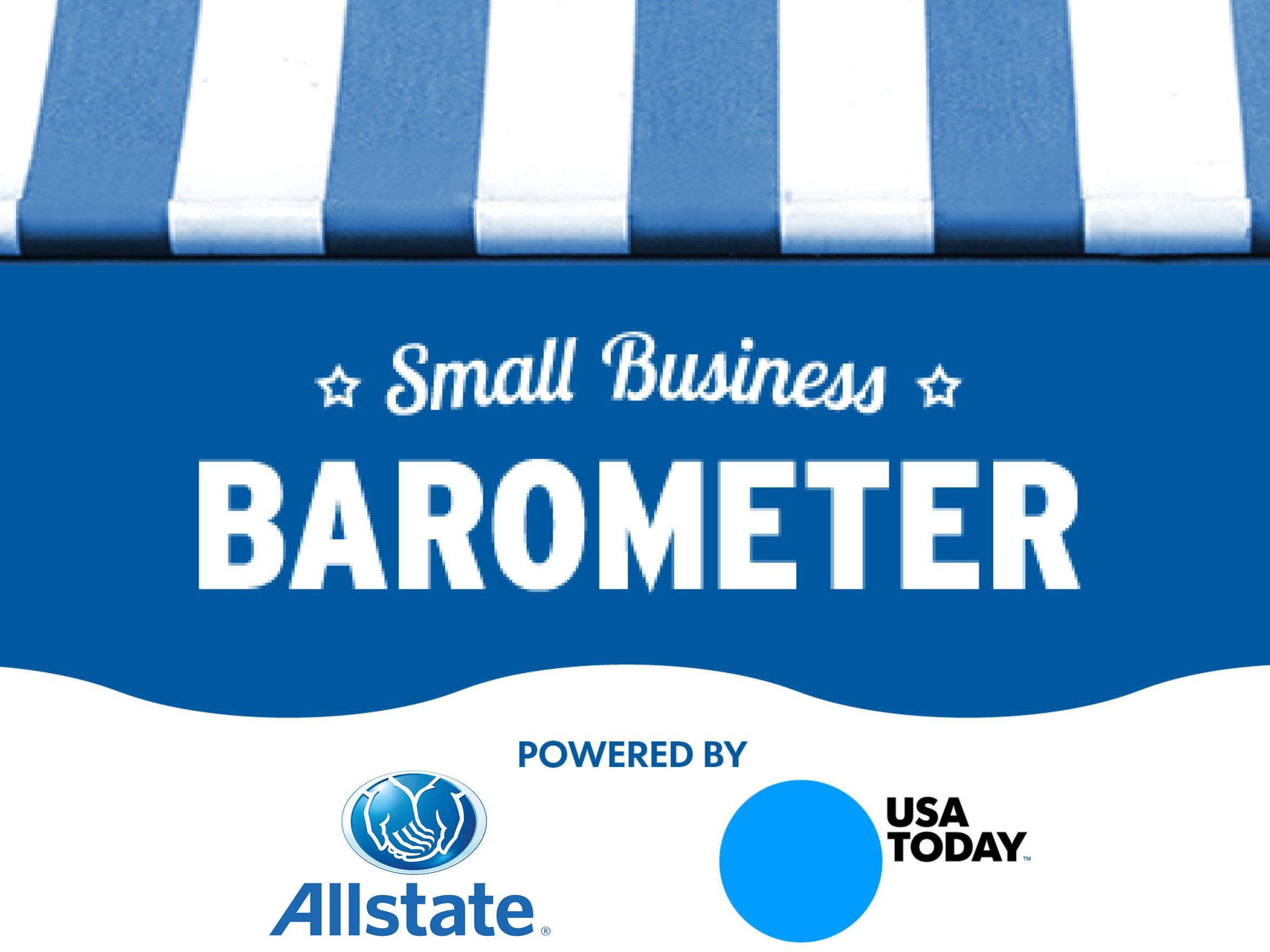 Small Business Barometer, powered by Allstate and USA