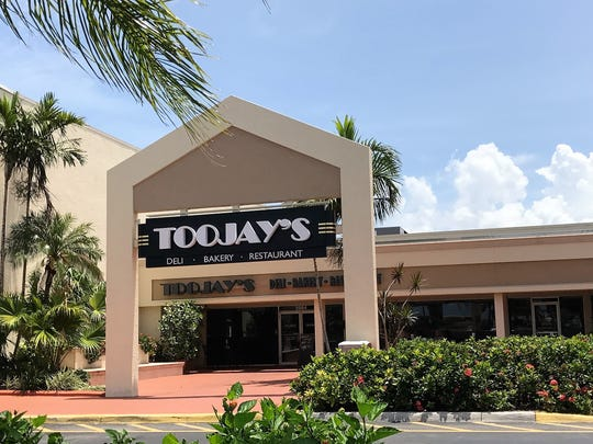 TooJays has a location in Stuart.