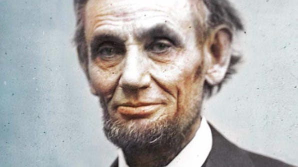 Abraham Lincoln was born and lived about eight years