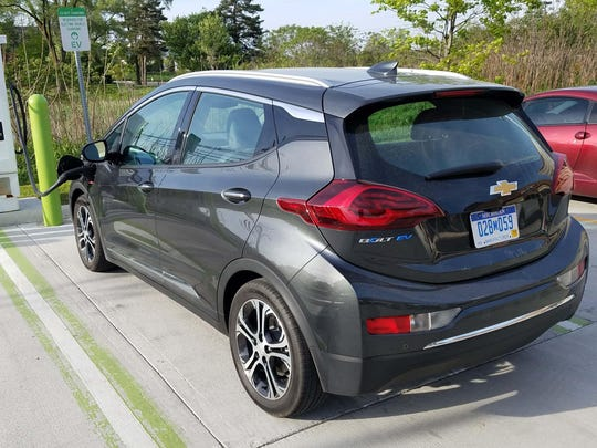 Chevy's Bolt electric car was the brand's most reliable model.