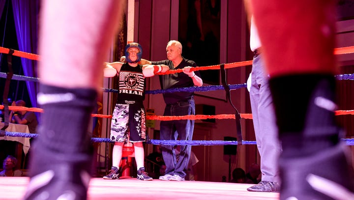 Young boxer: Made in Marion