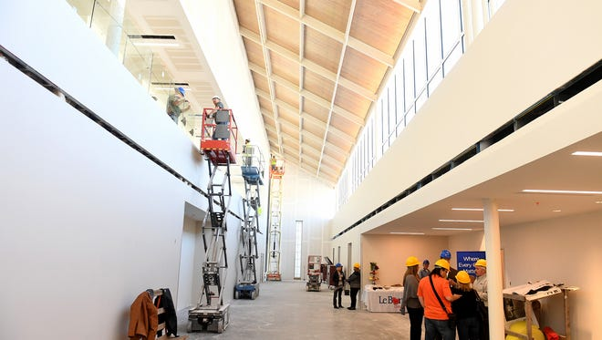 A hard-hat tour of the new LeBonheur facility in Jackson was given to members of the community, Monday, October 30.