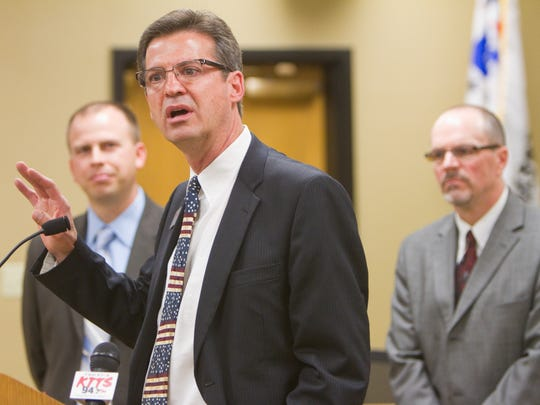 In 2012, former Nixa Superintendent Stephen Kleinsmith joined Springfield Superintendent John Jungmann and Doug Hayter, then the Branson Superintendent, to advocate for state funding. Hayter is now executive director of the Missouri Association of School Administrators.
