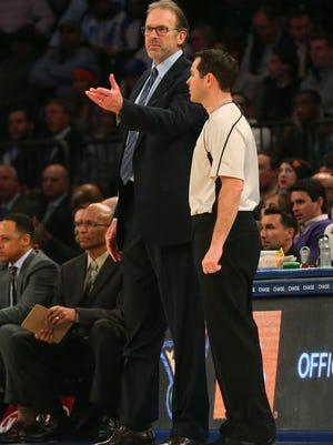 New York Knicks interim coach Kurt Rambis knows his team needs to make the playoffs.