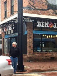 The Ben & Jerry's scoop shop on Church Street, Burlington,