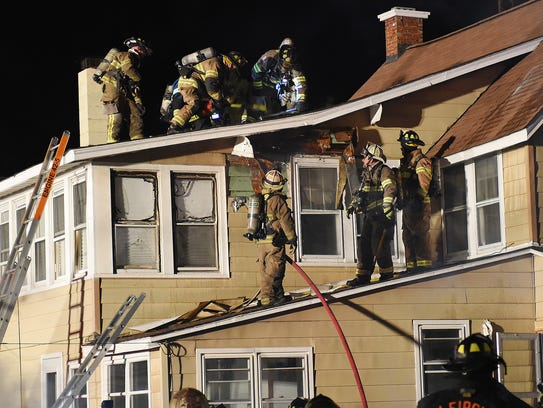 Several Fire Companies from Sussex and Kent County