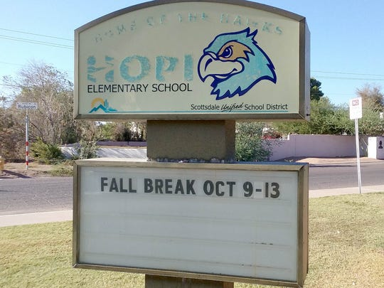 Parents of children at Hopi Elementary School, and