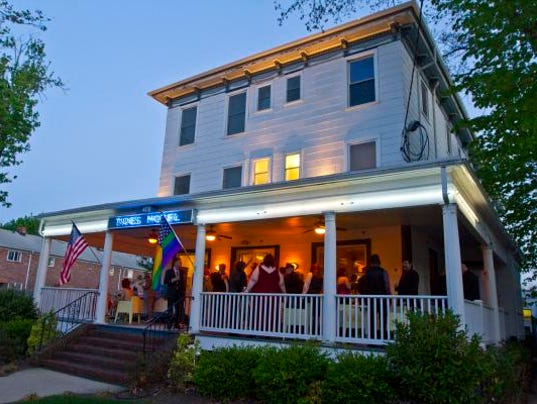 16 shore towns with amazing summer hotels for Best boutique hotels jersey shore