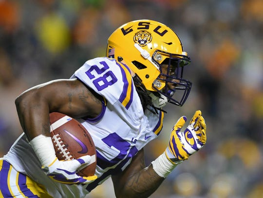 Tigers running back Darrel Williams forms a potent