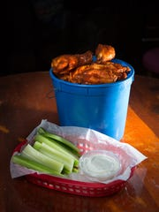 """Wings dominate,"" says Zach Walter, owner of Buckett's"