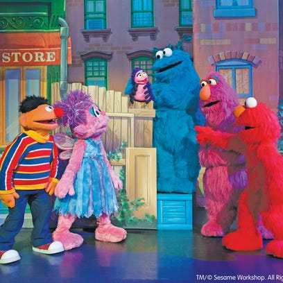 Elmo, Big Bird and their Sesame Street friends will