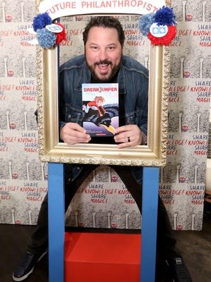 Greg Grunberg joins Milk + Bookies to raise money and books to help end childhood illiteracy at 8th Annual Story Time Celebration on Sunday, Feb. 26, 2017, in Los Angeles. (Casey Rodgers/AP Images for Milk + Bookies)