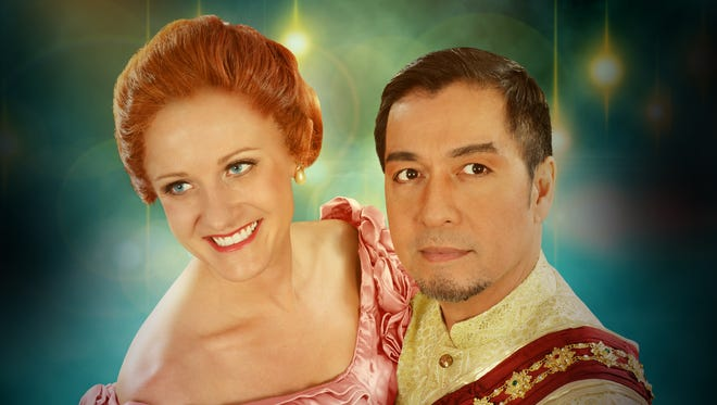 """Arizona Broadway Theatre stages """"The King and I"""" — starring Jill Tieskoetter and Alan Ariano in the lead roles — from Friday, Jan. 9, through Sunday, Feb. 15."""