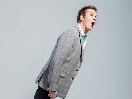Comedian Brian Regan is at Opening Nights Monday.