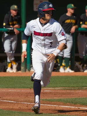 No. 19 Dixie State used a pair of late-inning rallies to take the final two games of a pivotal Pacific West Conference series from No. 25 Point Loma Saturday afternoon at Bruce Hurst Field.