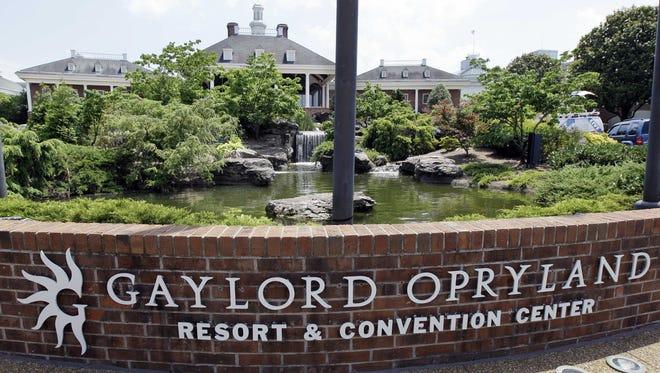 The Gaylord Opryland Resort & Convention Center in Nashville, Tenn.