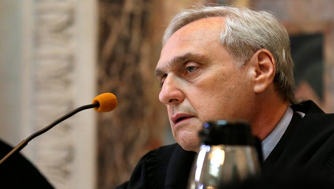 Chief Judge Alex Kozinski in 2014 was part of an 11-judge panel of the 9th U.S. Circuit Court of Appeals.