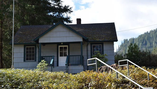 The Alsea Guard Station, along the Alsea River in Oregon's Coast Range, will be opened to rental this spring.