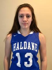 Haldane girls basketball player Allison Chiera