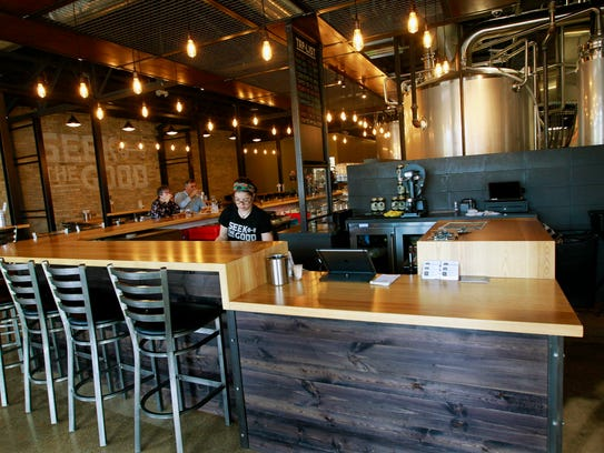 Good City Brewing Co. bar at 2108 N. Farwell Ave.,