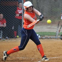 Millville's Ksdy Mae Makos collected her 100th career hit last week.