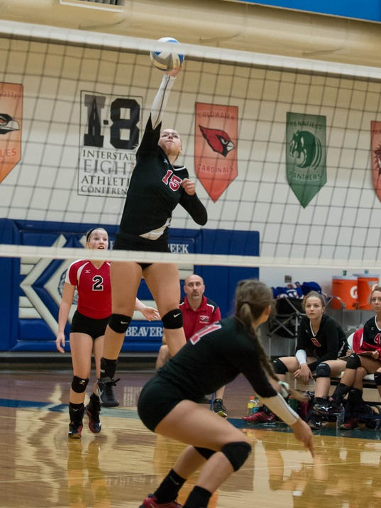 All-Area volleyball 1218