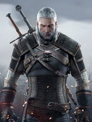 "Geralt of Rivia is the Witcher in ""Witcher 3: Wild Hunt."""