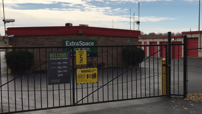 Amanda Taylor said her baby's cremated remains were in a safe that was among the valuables stolen from her unit at Extra Space Storage, 551 Stover Ave., on Indianapolis' south side.