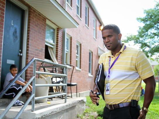PROVIDENCE: Waldy Rodriguez, a case worker for the