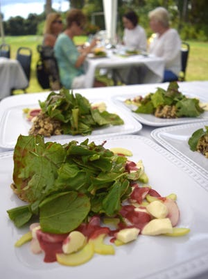 Inyoni Organic Farm owner Nick Batty and Naples chef, culinary instructor and caterer Kristina San Filippo have teamed up to offer a tour of the sustainable farm.