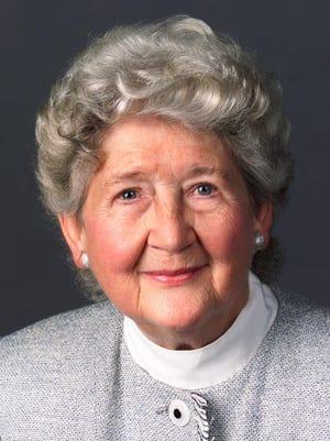 Harriet Foley, community volunteer, 93.