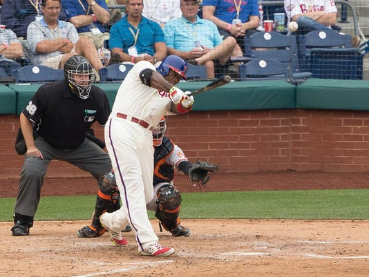 MLB: Baltimore Orioles at Philadelphia Phillies