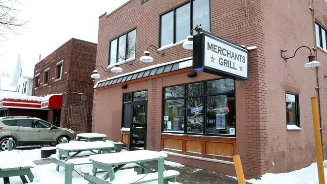 Merchants Grill, 881 Merchants Road,  is next to L&M Lanes, a small, retro bowling alley, and around the corner from the popular Johnny's Irish Pub. Many people will spend an evening going from one place to another.