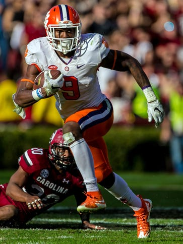 Running back Wayne Gallman and Clemson are the No.