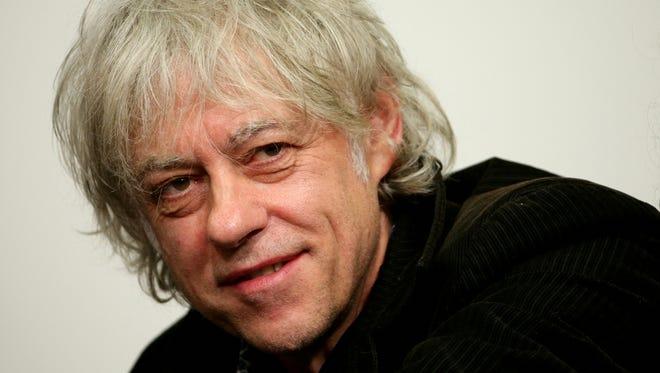 Bob Geldof will visit Bloomington on April 30.