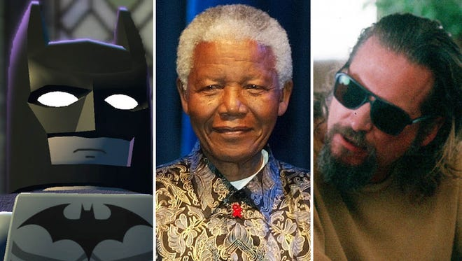 """Lego Batman, Nelson Mandela and Jeff """"The Dude"""" Lebowski were just a few of the write-ins voters in Johnson County thought would make good presidential candidates."""