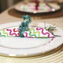 Adorn your table with festive décor.