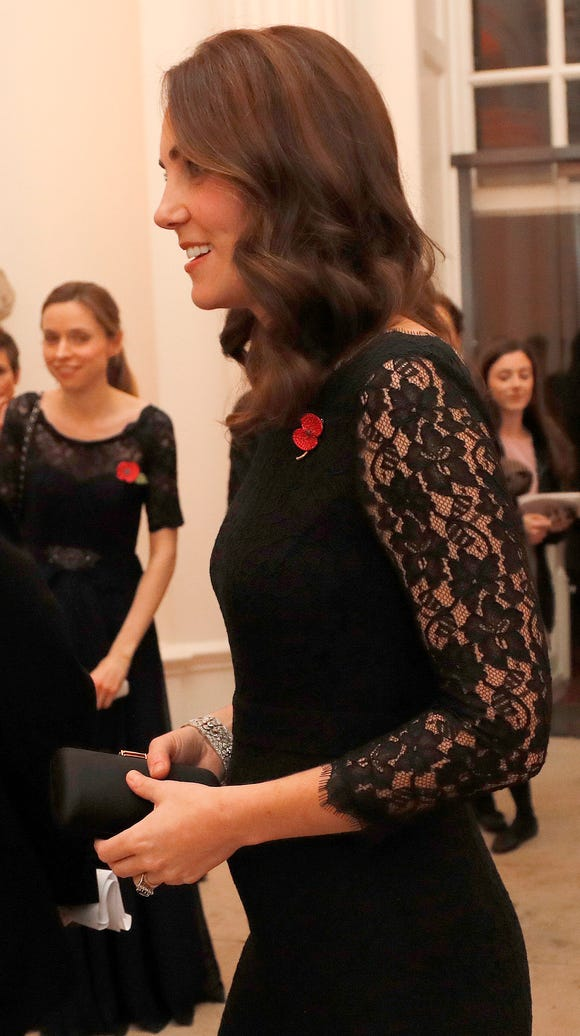 Duchess Kate at gala dinner for The Anna Freud National