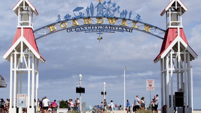 The Ocean City, Md., boardwalk is among the nominees for best boardwalks.