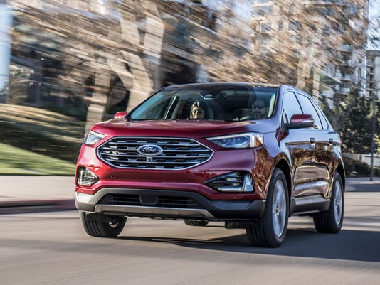 Detroit Auto Show Ford Edge Revealed - Ford show car