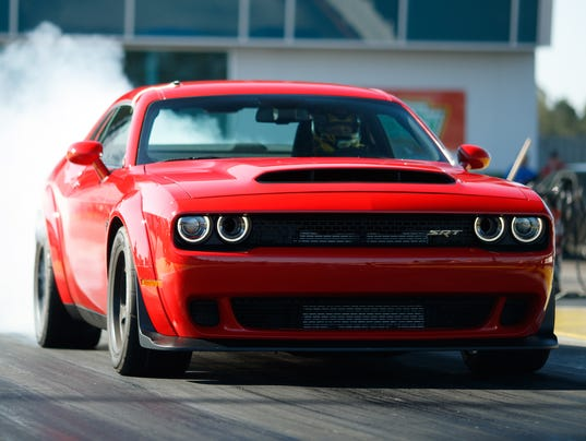 Dodge Demon Review Horsepower Car Is A Slice Of Musclecar Heaven - Sports cars horsepower