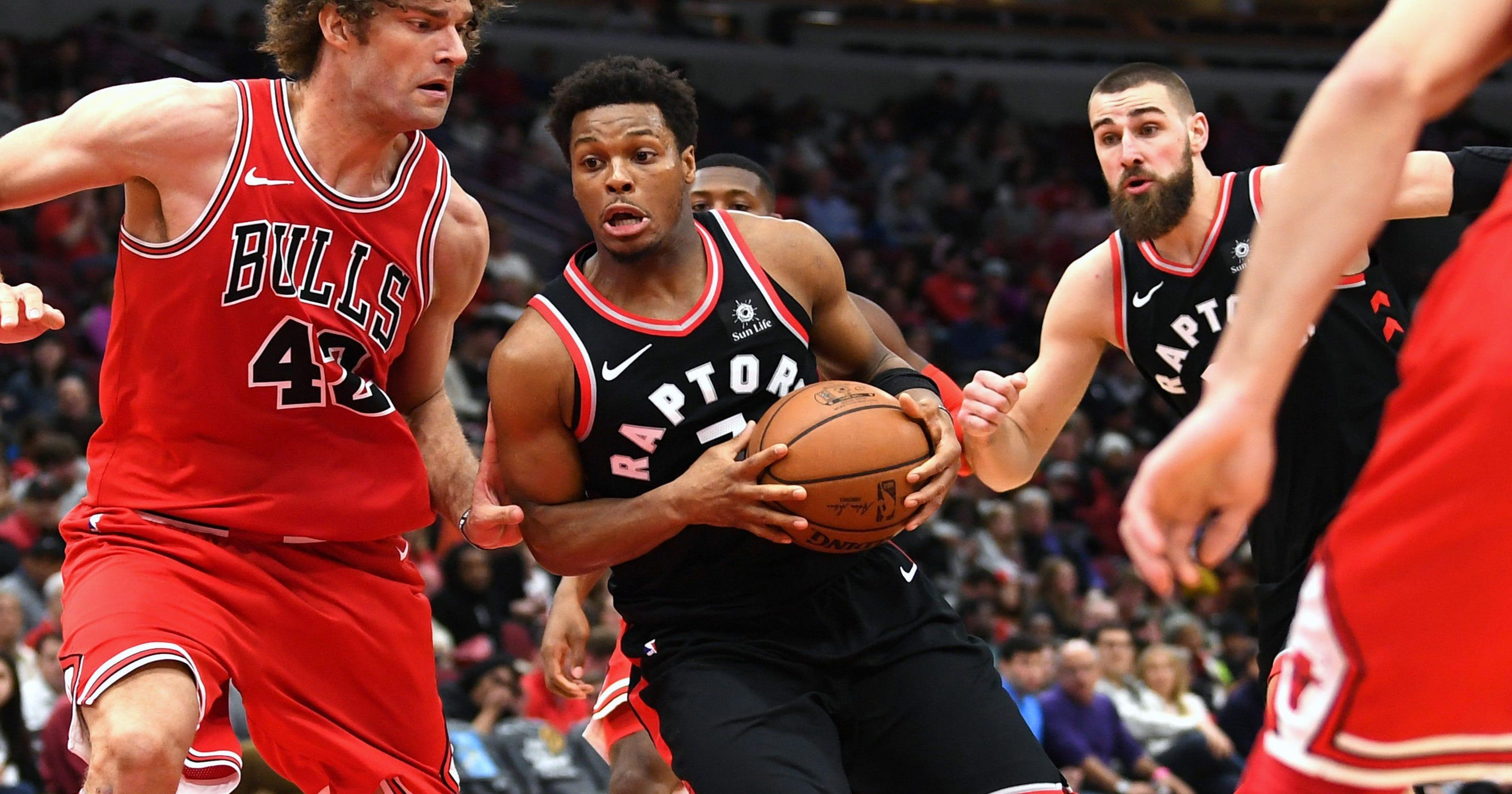 aee01aca8 Raptors roll past Bulls for seventh straight win