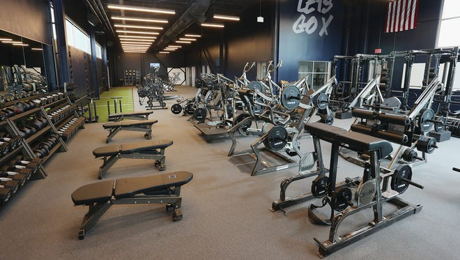 Xavier's new state-of-the-art strength and conditioning facility in Cintas Center was designed for its 300 student athletes and future recruits.