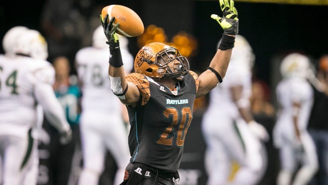 Jeremy Kellem appears to be a lock at safety for the Rattlers.