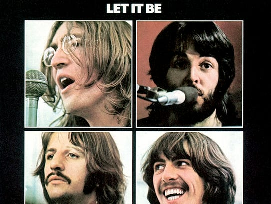 """Let it Be"" by the Beatles album cover."
