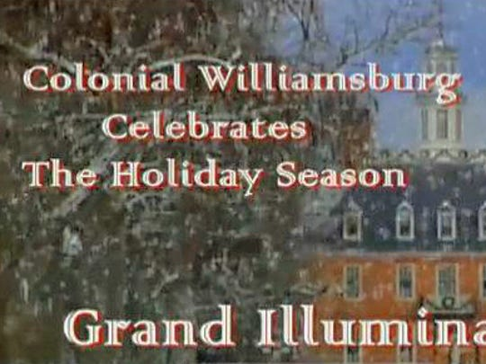 On a motor coach tour from Evansville, you can take in the sights and sounds of Grand Illumination in Colonial Williamsburg.