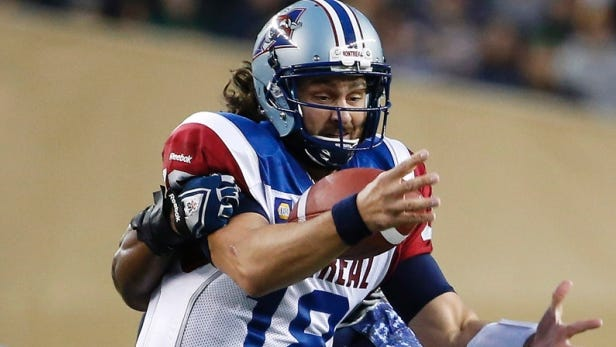 Tuscola alum Jonathan Crompton now plays in the Canadian Football League for the Montreal Alouettes.