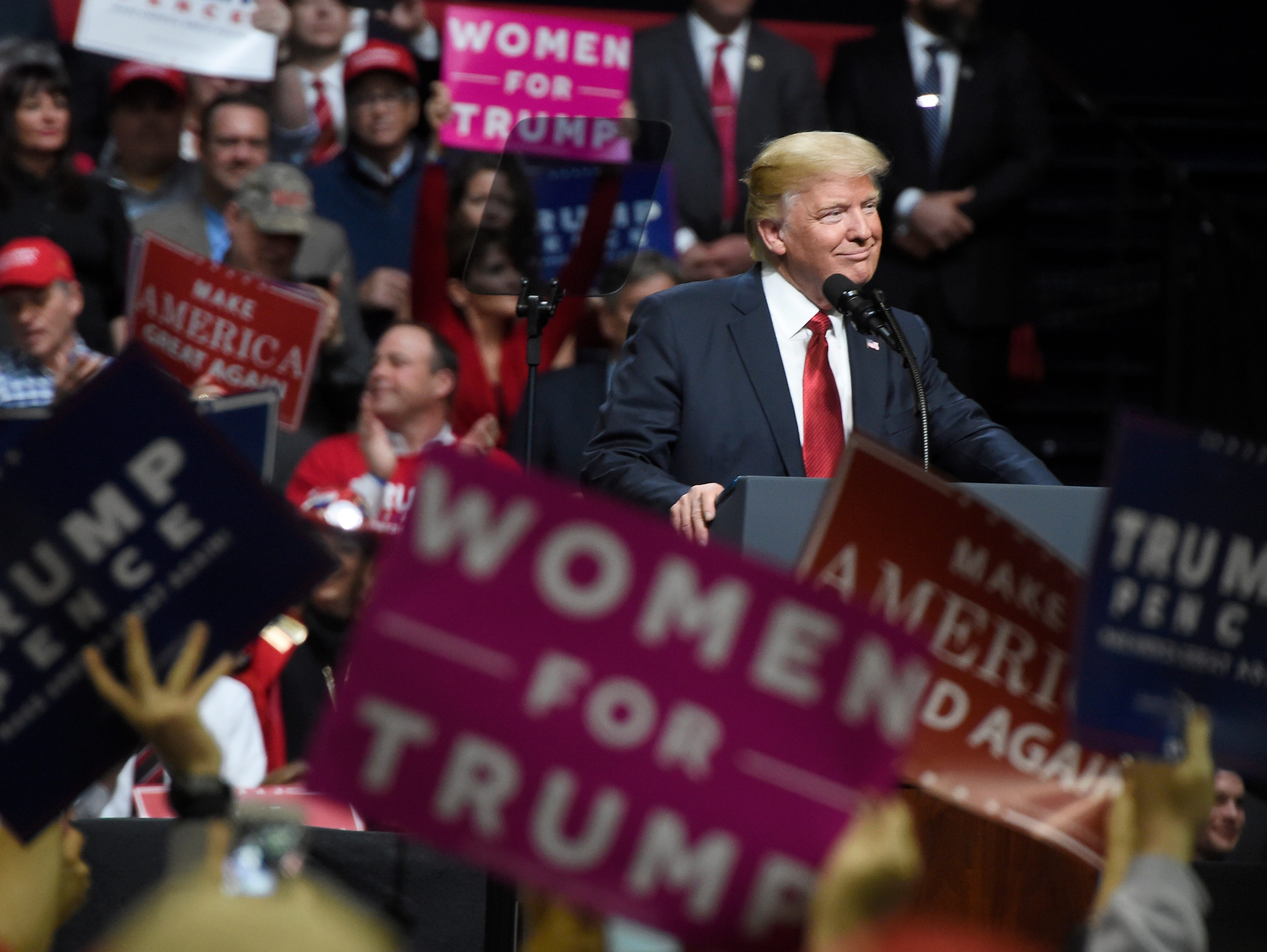 The majority of Tennesseans still support President Donald Trump, but that number has dropped 8 percentage points since he overwhelming won the state, a new Vanderbilt University poll shows.